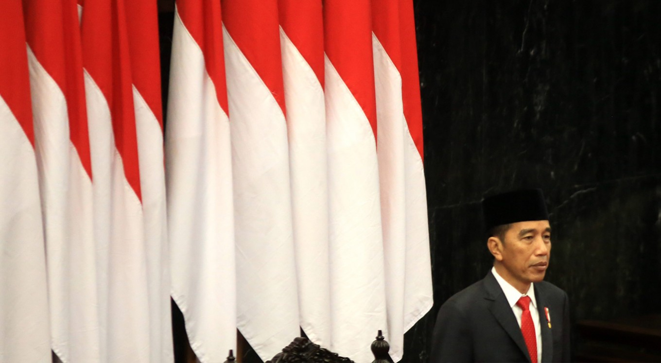 Jokowi swearing in